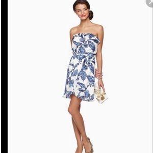 EUC Lilly Pulitzer Dress- fallin love print -L